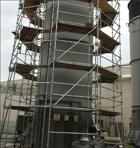 Industrial Scaffolding Rental Systems Tennessee